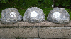 Solar Powered Landscaping Rocks - Set of 3