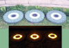 Solar Stepping Stones - Round - Set of 3