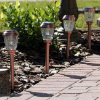 Charleston Solar Pathway Lights - Copper Finish - Set of 6