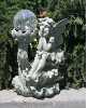 Solar Fairy with Crackled Ball Solar Light