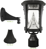 Aurora Solar Light with 3 Mounting Options