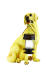 Yellow Lab Solar Garden Statues