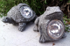 Miniature Animal Statues with Solar Light