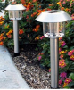 Stainless Steel Solar Pathway Lights- 2 Pack