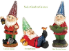 Solar Powered Garden Gnome - 3 Styles