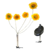 Solar Stainless Flexi 5 Sunflower Light