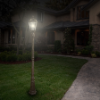 Royal Solar Lamp Post Light with Solar Light Bulb