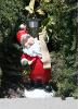 Santa Solar Holiday Decor
