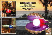 Solar Pearl Mood Light - Color Changing