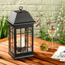 San Rafael Estate Mission Solar Lantern