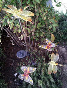 Solar Butterfly & Solar Dragonfly Lights