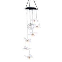 Solar Butterfly Windchime