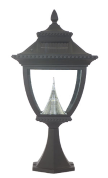 Pagoda Solar Deck Light