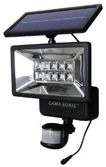 Solar Outdoor Security Light with Motion Sensor