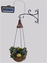 Solar Light Kit with Hanging Planter