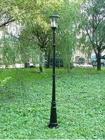 Victorian Solar Lamp Post Light