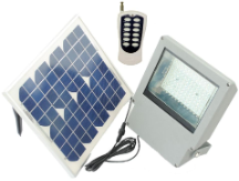 Super Bright Solar Flood Light with Remote Control - 108 LED