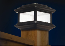 Colonial Solar Post Cap Light - 2 Pack