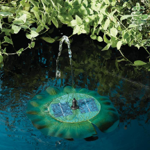 Lily Floating Solar Water Fountain