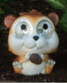 Solar Powered Squirrel Lights - 2 Pack