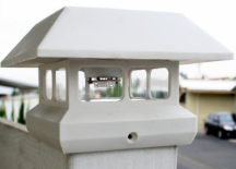 White Solar Patio Lights - 2 Pack