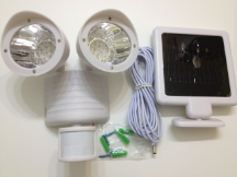 Dual Solar Motion Sensor Light - 22 LED