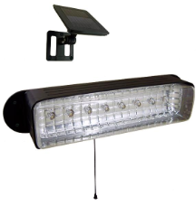 Solar Shed Light With 8 LED's