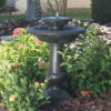 Chatsworth 2-Tier Solar-on Demand Water Fountain