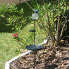 Aquarius Solar Birdbaths with Solar Light
