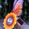 Solar Butterfly/Sunflower Light