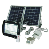 Solar Flood Light With RF Remote Control / Security PIR Motion Light