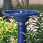 Athena Solar Birdbath - Close-up