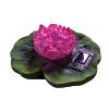 Solar Water Lily Color Changing Light