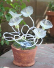 Solar Garden Flowers with 5 Blinking LEDs