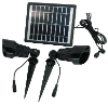 Dual Lamp Solar Spot Lights Kit