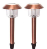 Hut Solar Copper Lighting - Set Of 2