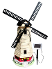 Solar Lighthouse with Windmill