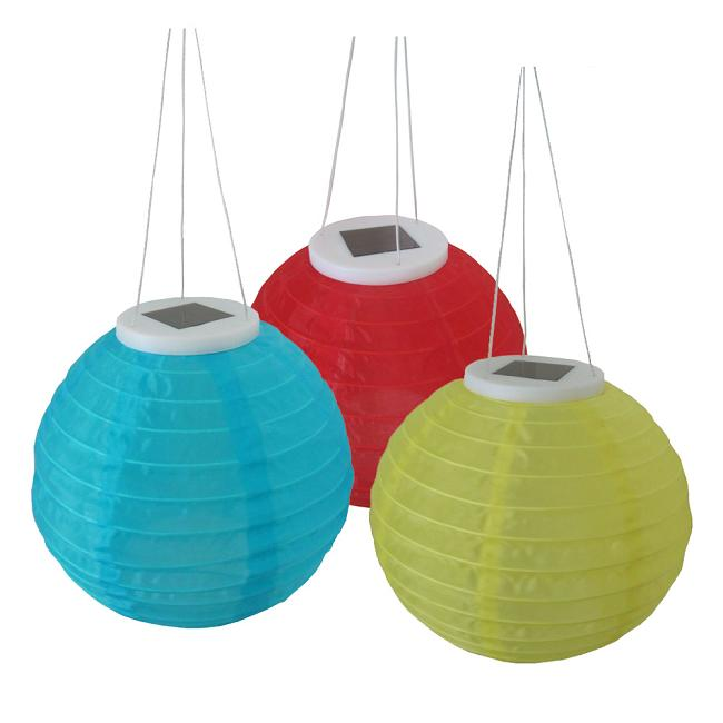 Solar Asian Lanterns 2