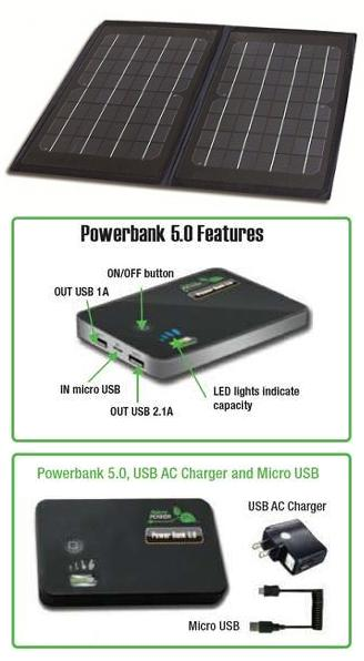 Solar Charger with Power Bank