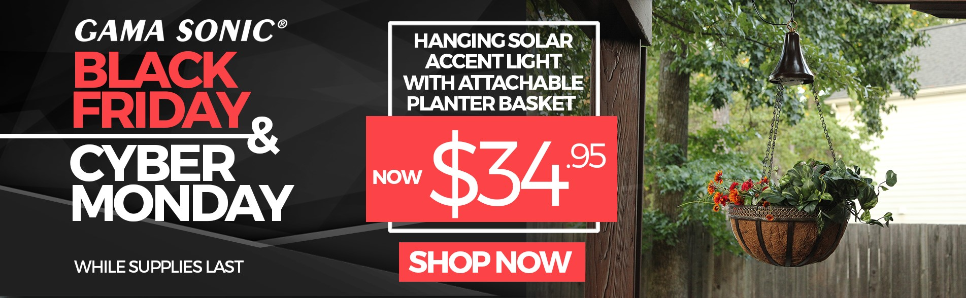 Solar Hanging Accent Light