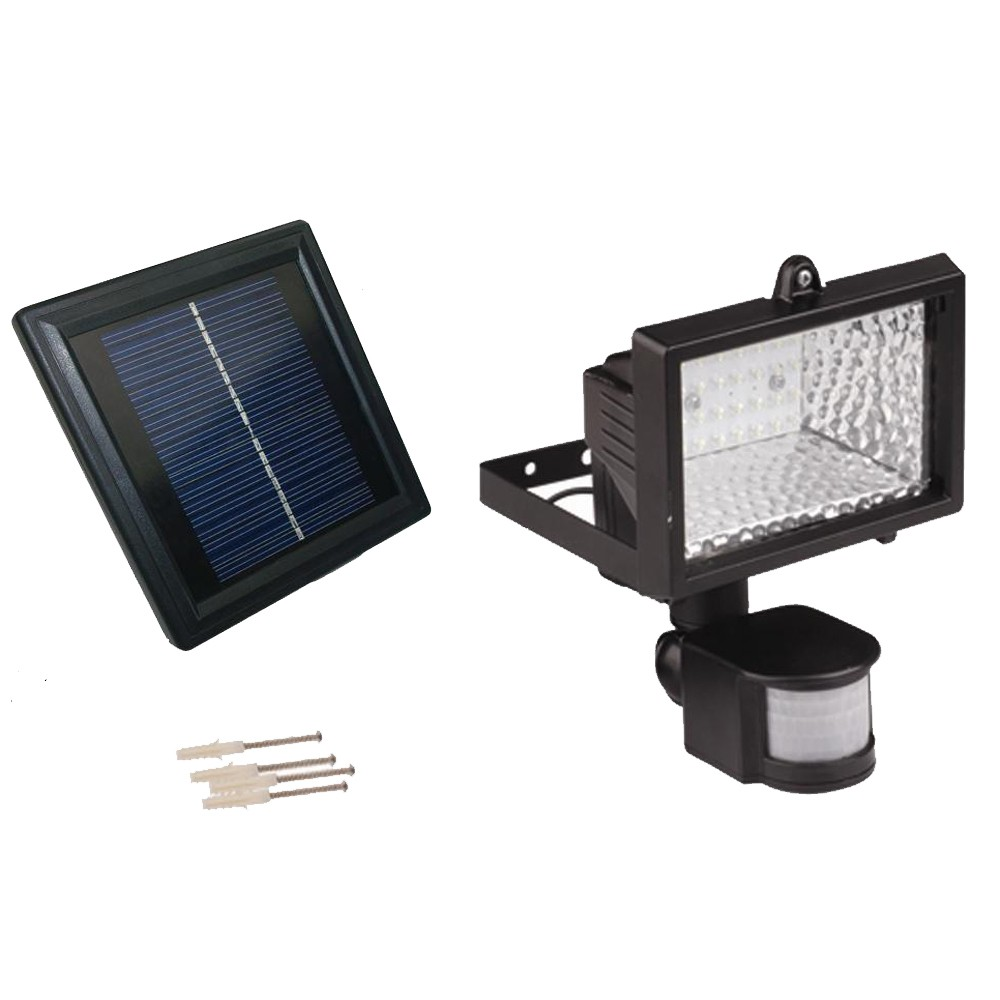 Solar Powered Motion Sensor Light - 28 LED