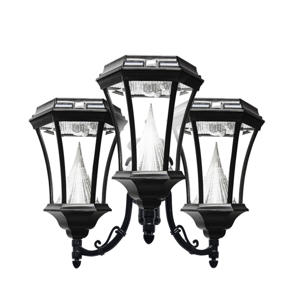 three victorian replacement solar lights. Black Bedroom Furniture Sets. Home Design Ideas