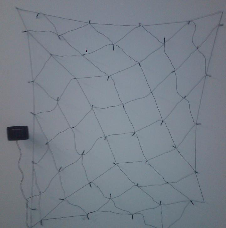 Fully extended solar net lighting